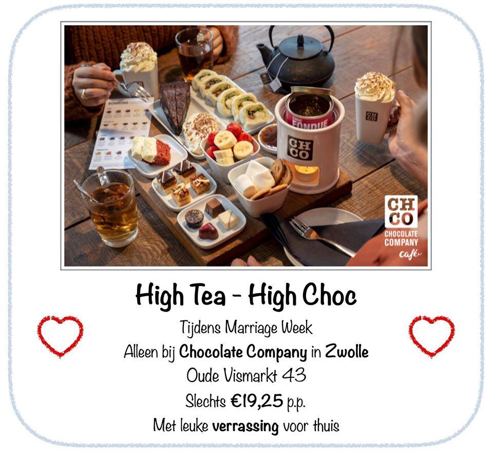 high tea high choc